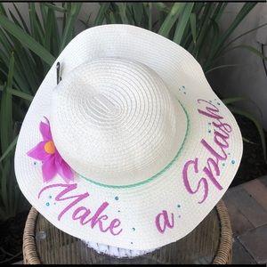 NWT Disney Parks Little Mermaid Beach Hat